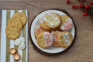 Salty and Sweet Chocolate Caramel Cookies by Happy Family Blog