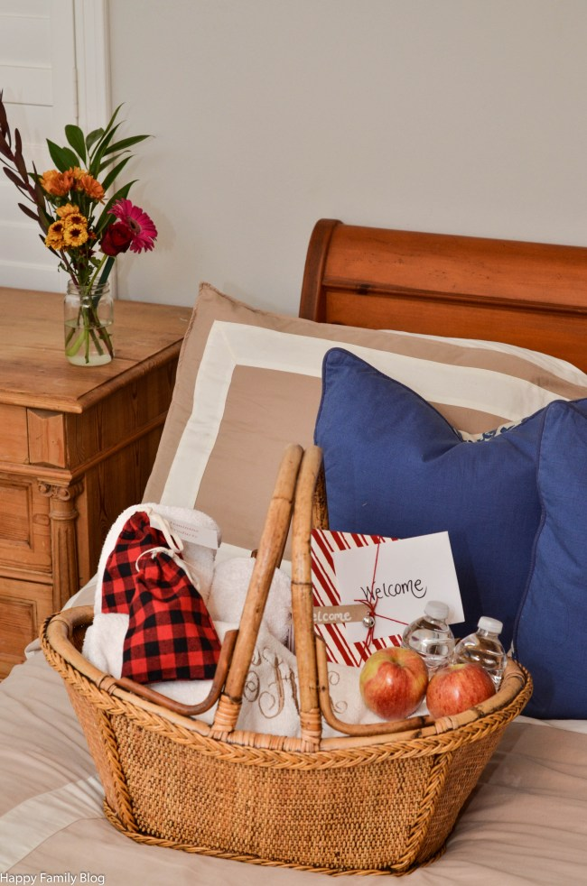 3 Steps to Prepare for Overnight House Guests by Happy Family Blog