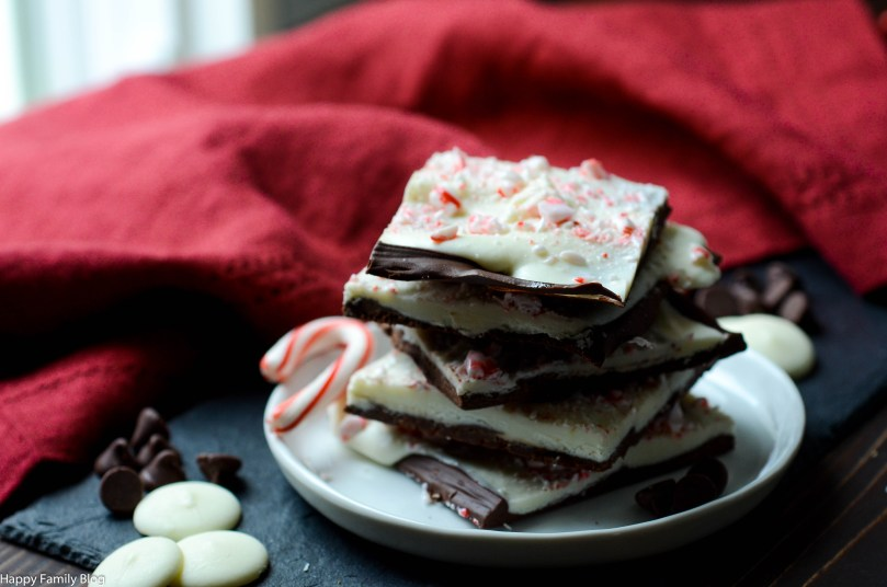 Peppermint Bark by Happy Family Blog