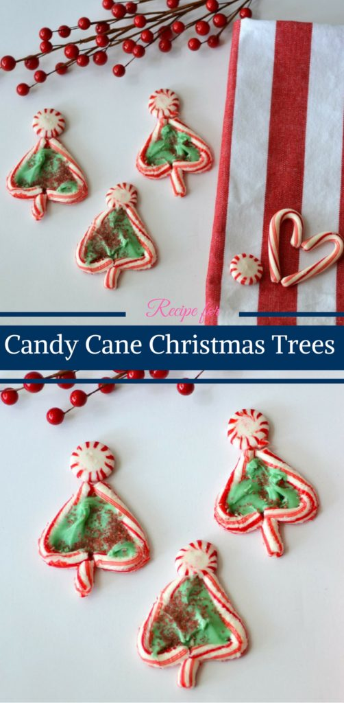 Candy Cane Christmas Trees by Happy Family Blog
