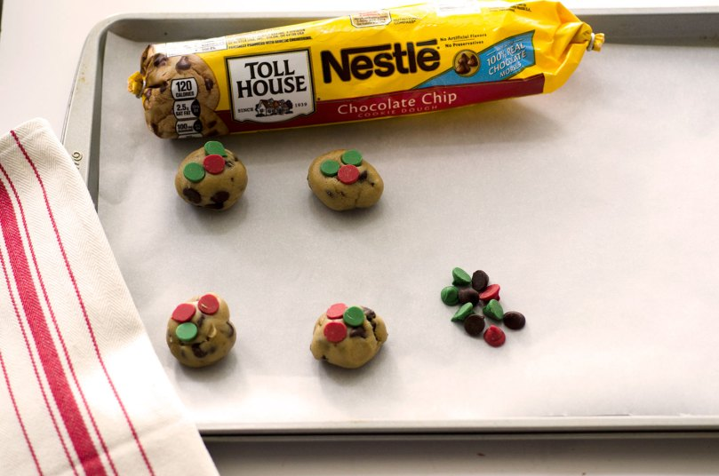 NESTLÉ® TOLL HOUSE® Holiday Chocolate Chip Cookie Dough by Happy Family Blog