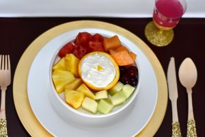 Healthy Citrus Creamsicle Fruit Dip by Happy Family Blog