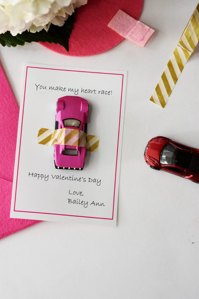 Non-Candy Valentine's Day Cards by Happy Family Blog