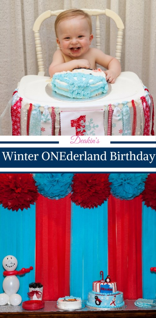 Winter ONEderland Birthday Party by Happy Family Blog