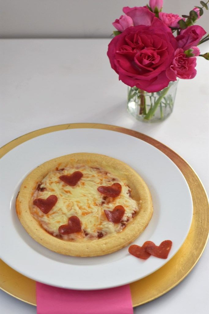 Pepperoni Heart Pizza by Happy Family Blog