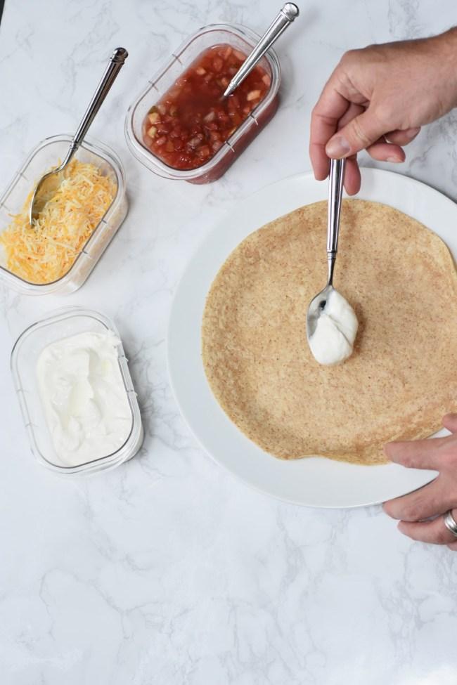 Fajita Night Prep + Recipe by Happy Family Blog