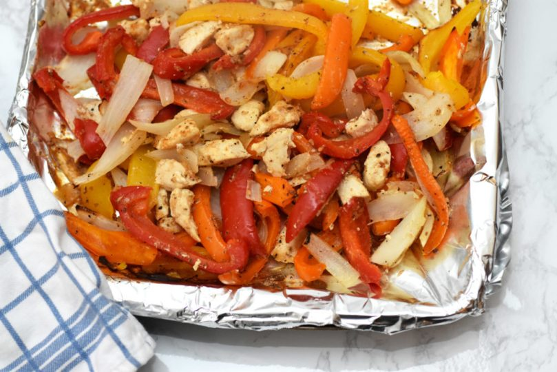 Fajita Night Prep + Recipe by Happy Family Blog