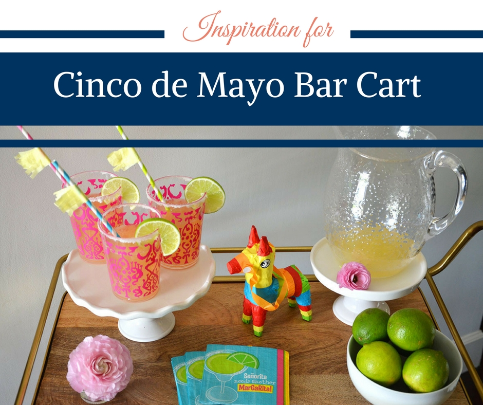 Cinco de Mayo Bar Cart