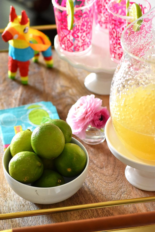 Inspiration for Cinco de Mayo Bar Cart by Happy Family Blog