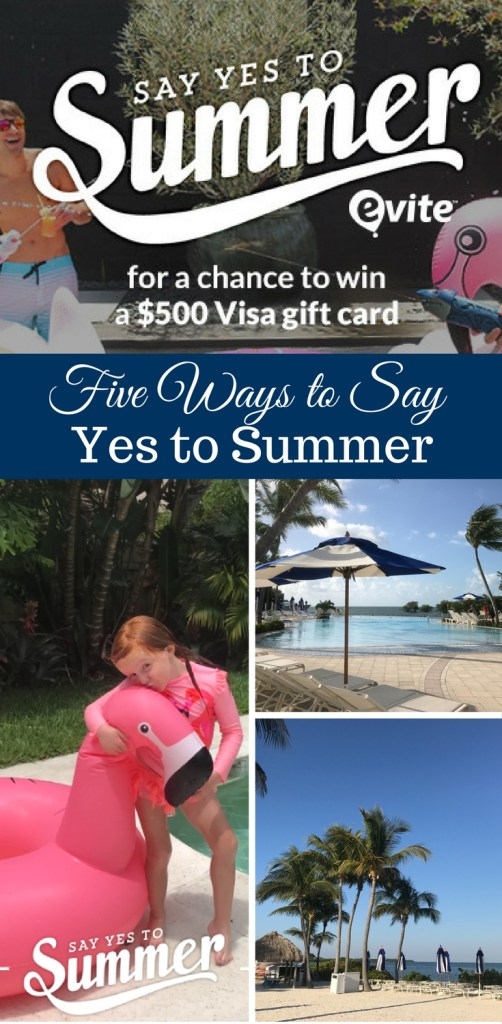 5 Ways to Say Yes to Summer