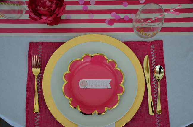 Pink and White Mother's Day Brunch by Happy Family Blog
