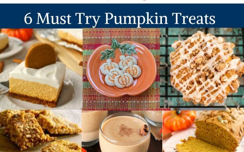 6 Must Try Pumpkin Treats by Happy Family Blog