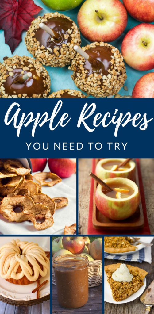 Apple Recipes You Need to Try by Happy Family Blog