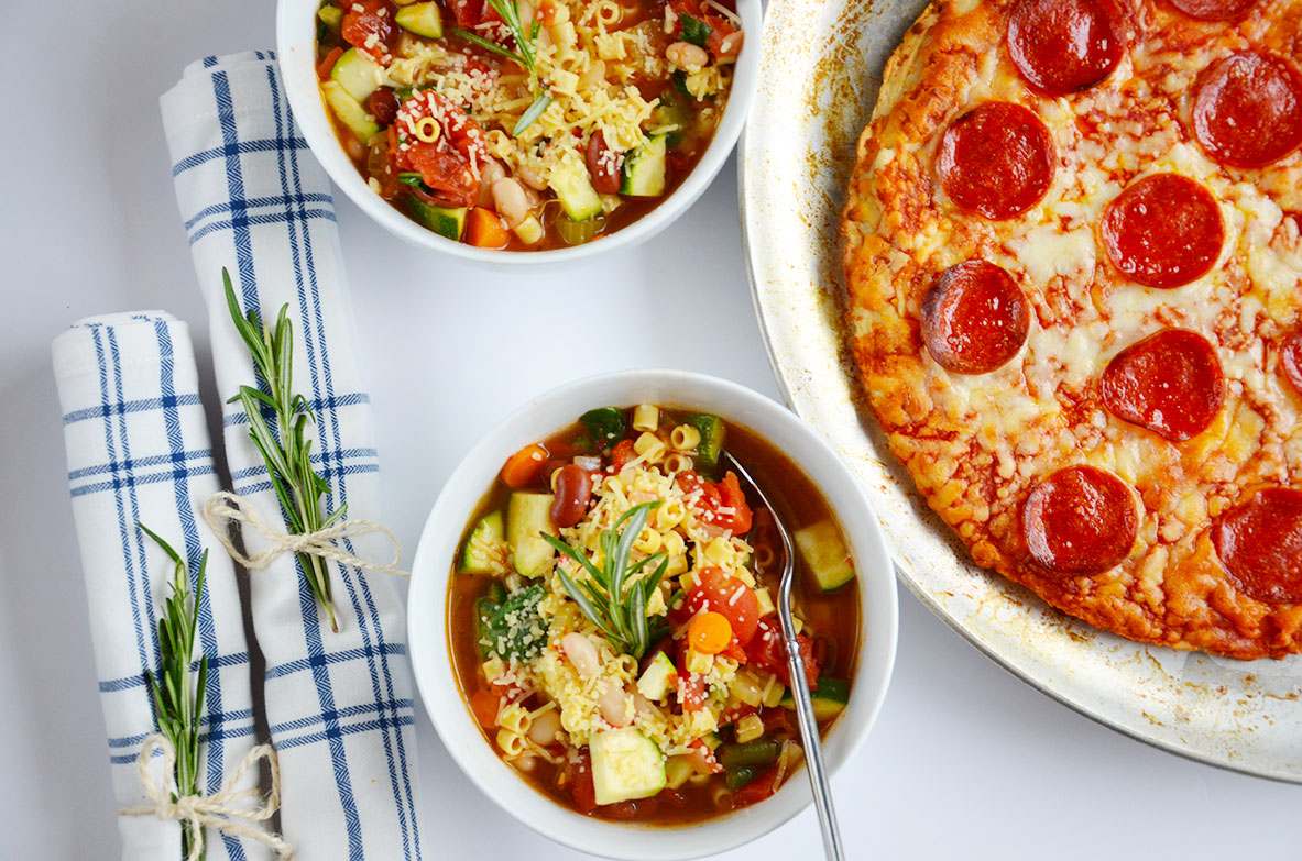Behance recipe for minestrone soup in the crock pot by happy family blog forumfinder Gallery