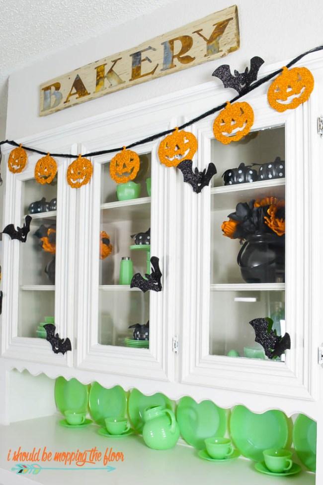 Pumpkin Banner, Halloween Banner