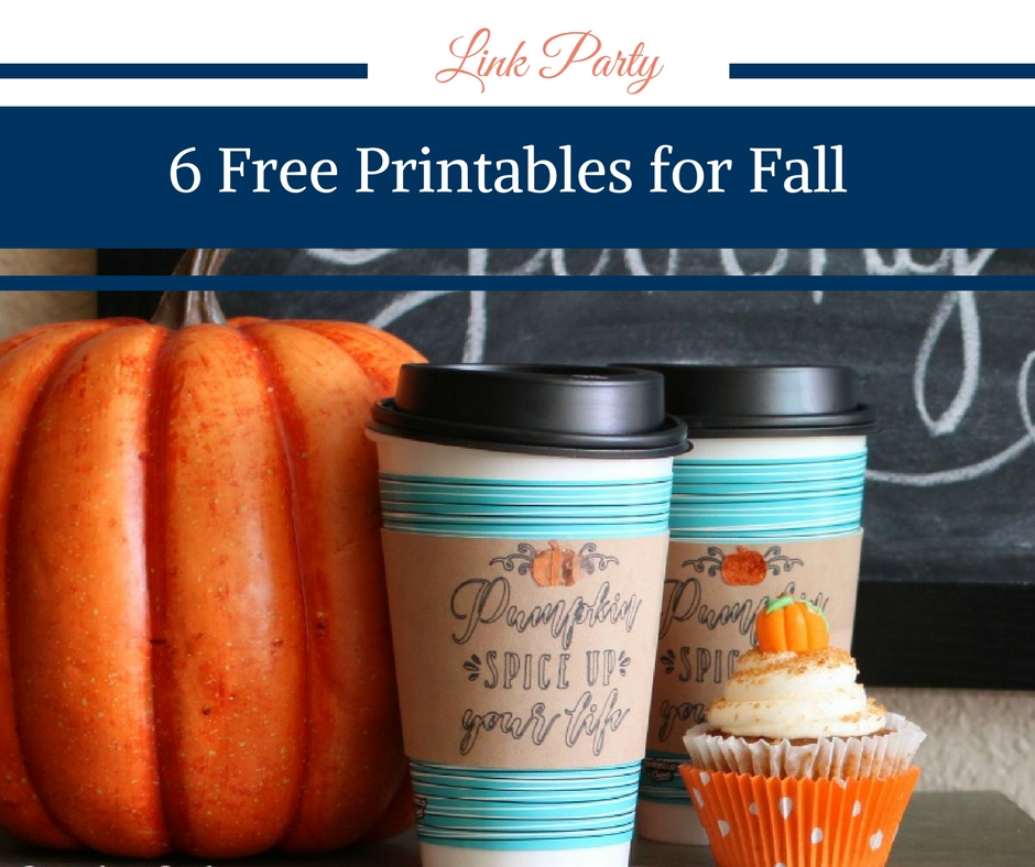 6 Free Printables for Fall