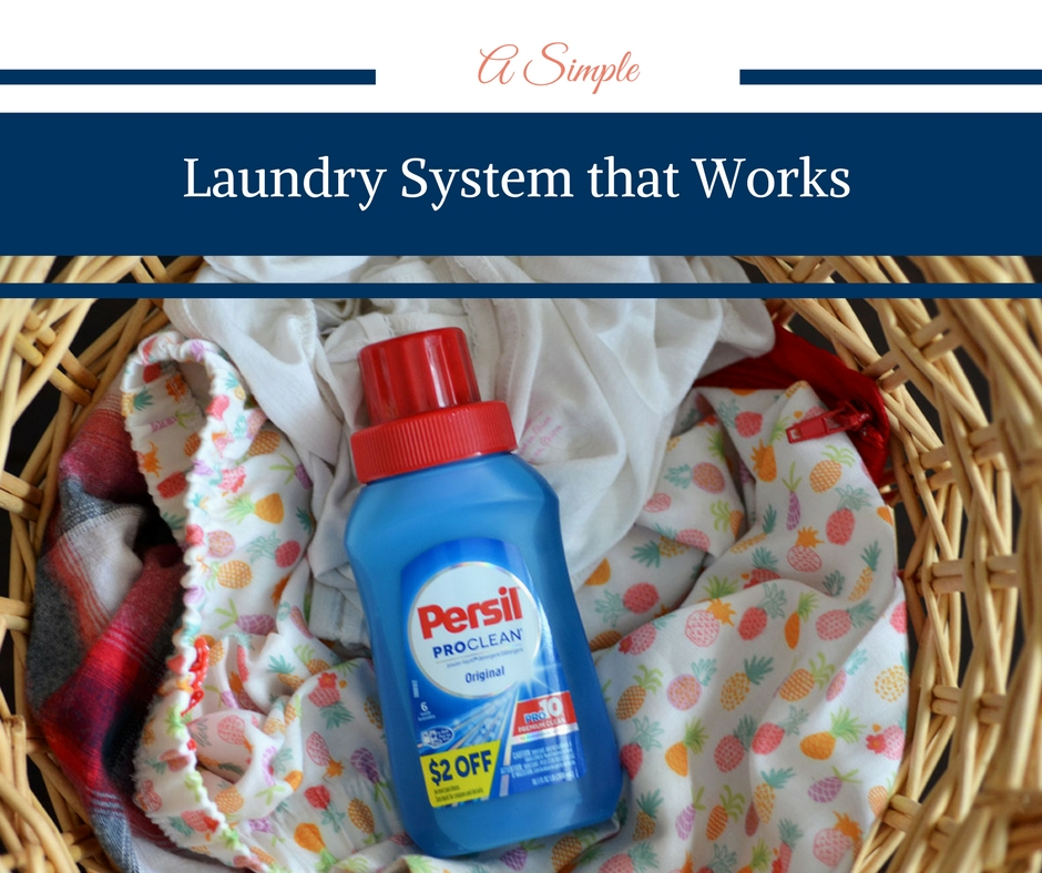 A Simple Laundry System that Works with Trial Size Persil® fromTarget®