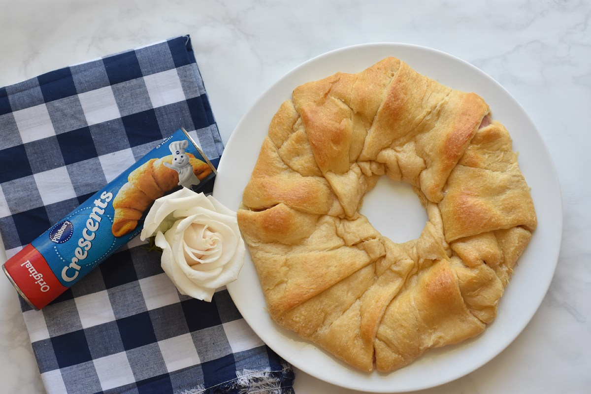 Ham and Cheese Crescent Ring