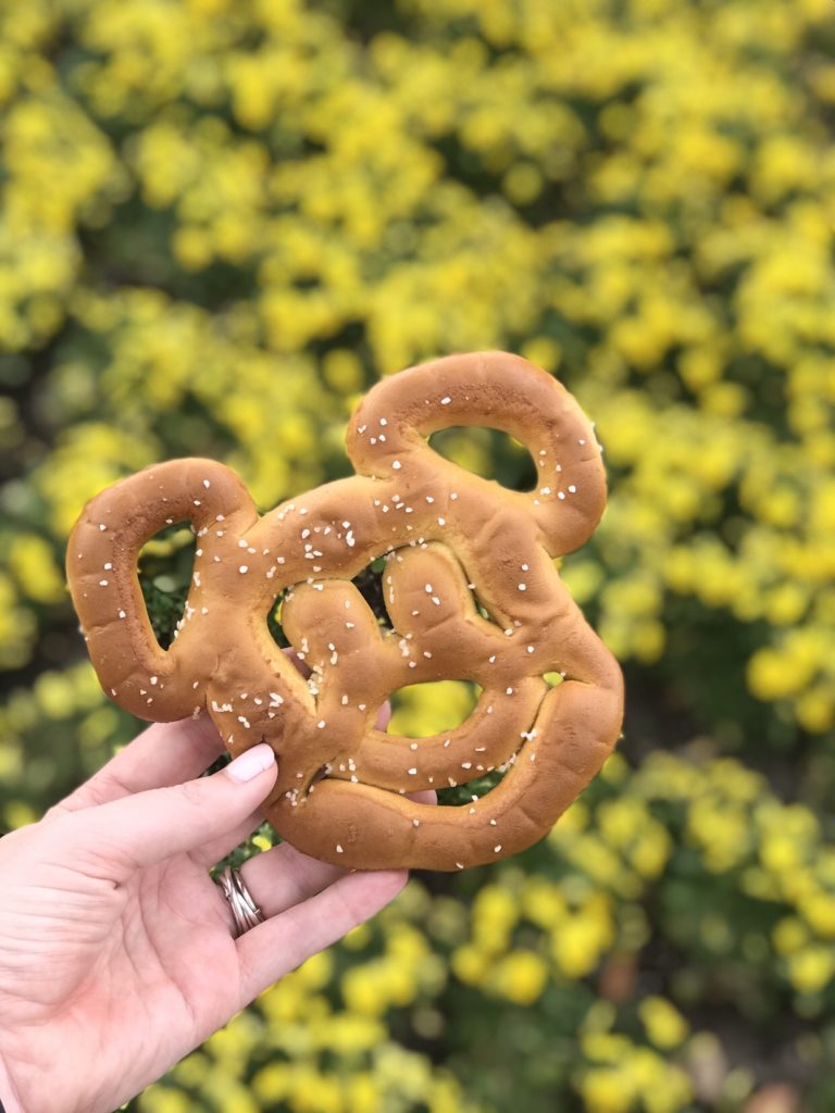 Flower and Garden Festival Mickey Pretzel
