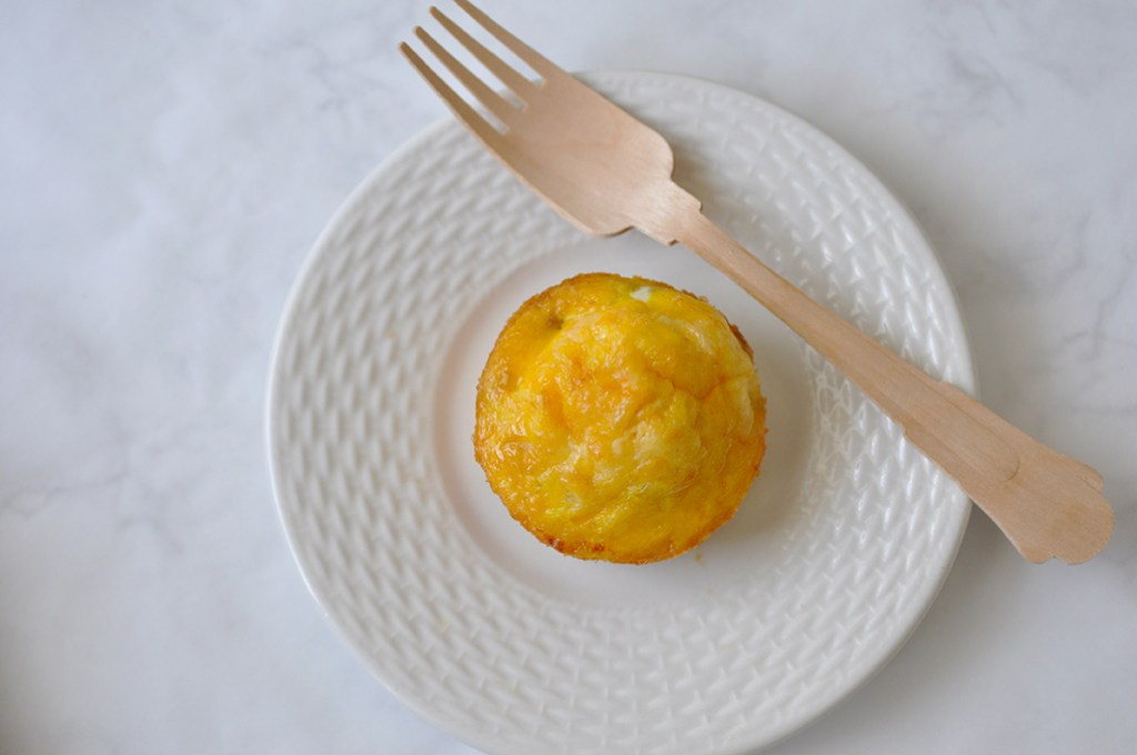 Easy Weeknight Dinners for Kids healthy egg muffin cups with vegetables and sausage