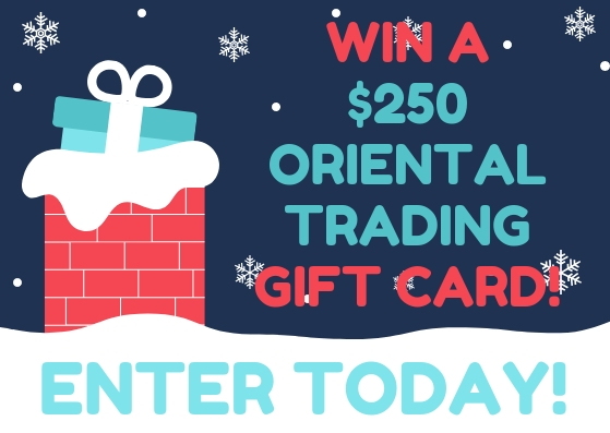 Enter to Win a $250 Oriental Trading Gift Card