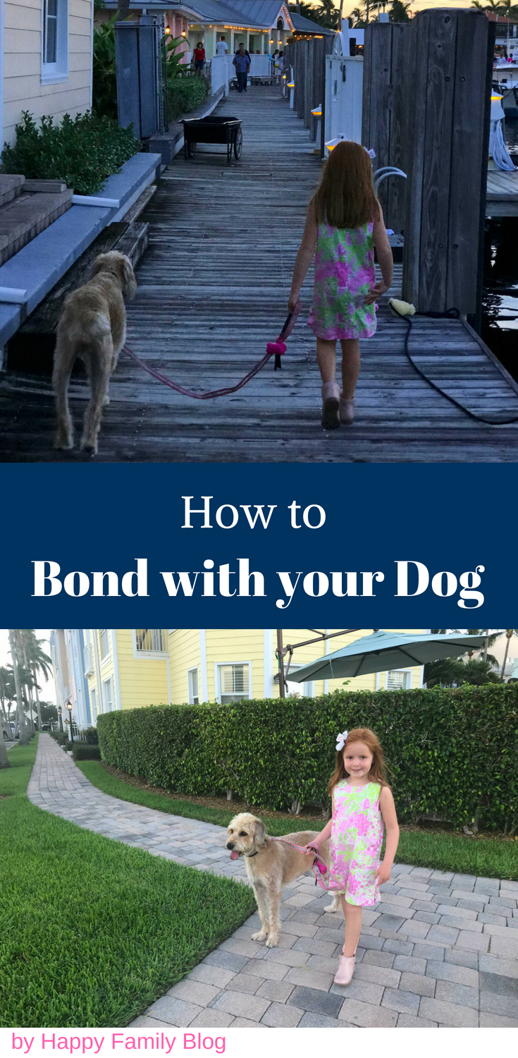 How to Bond with Your Puppy by Happy Family Blog