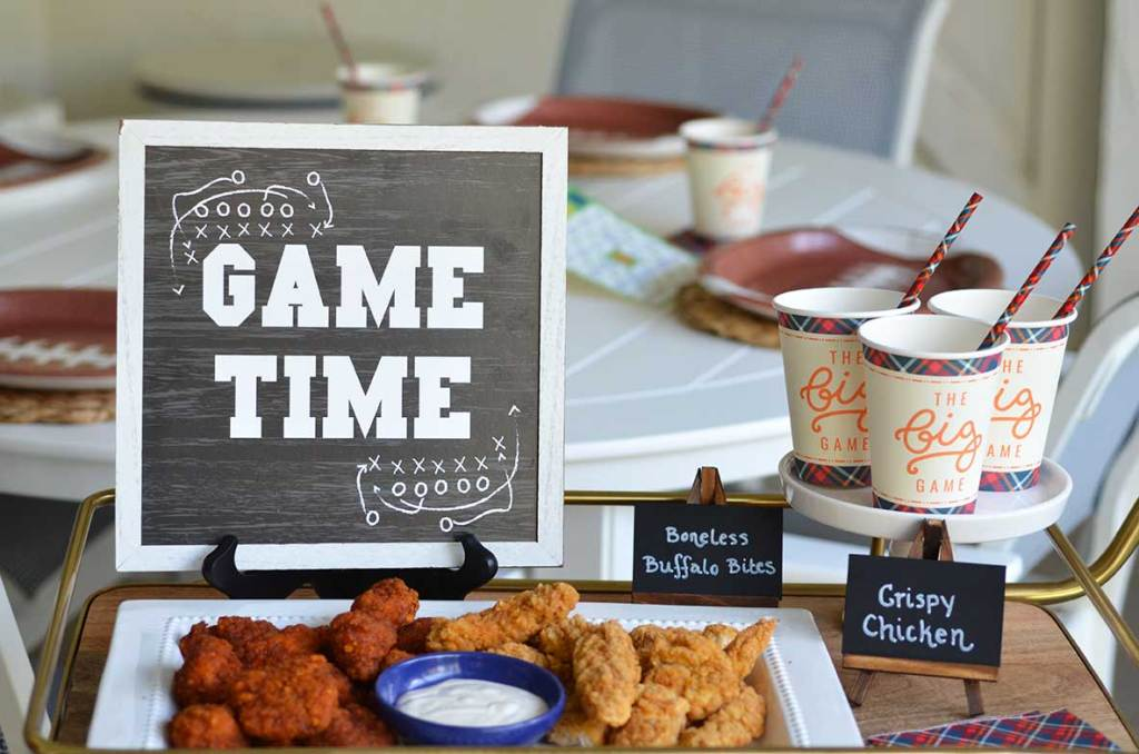 Game Day Appetizers & Snacks