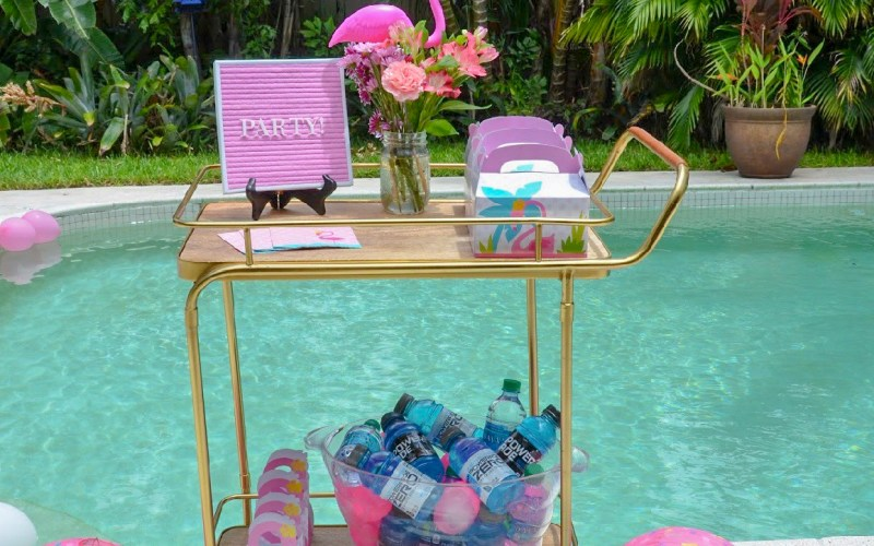 Get inspiration for Pool party for kids, including swimming pool party ideas and pool party theme ideas.