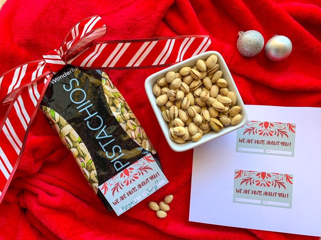 pistachio gifts, pistachio gift bags