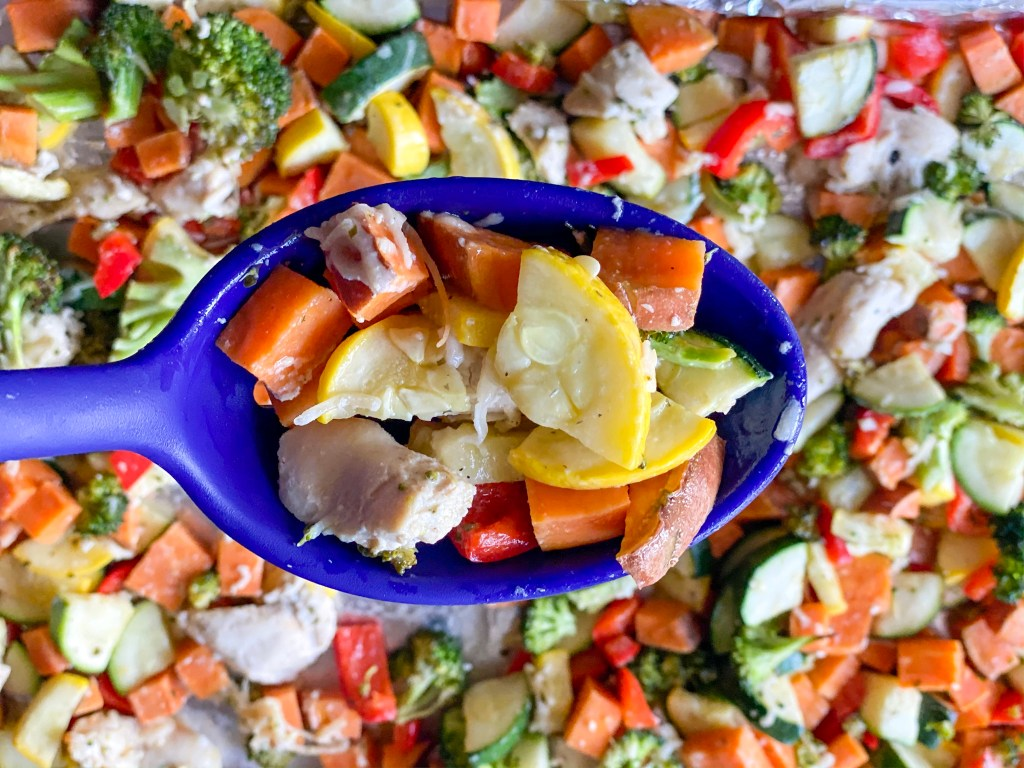sheet pan chicken breast and vegetables, easy ranch chicken, chicken ranch, ranch chicken recipe