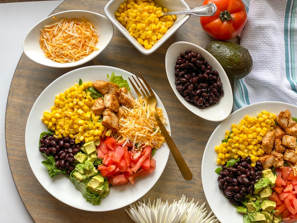his is the best Southwest salad recipe.  Learn how to make a southwest salad which is also known as a southwest chicken salad or a SW salad.
