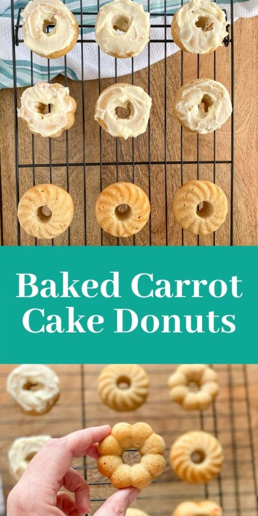Baked Carrot Cake Donuts. What are cake donuts