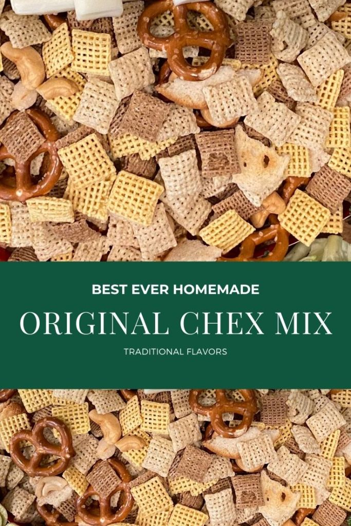 How to Make Original Chex Mix Recipe