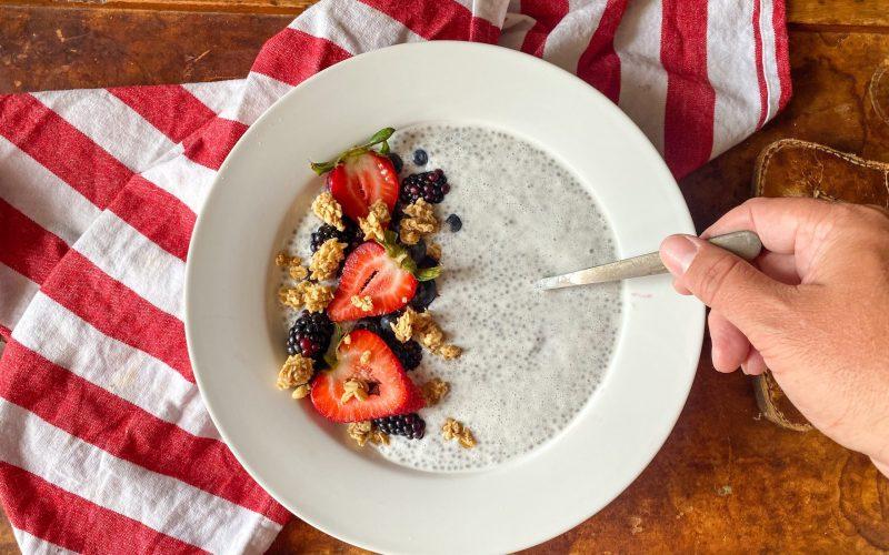 Chia Seed Pudding Power Bowl