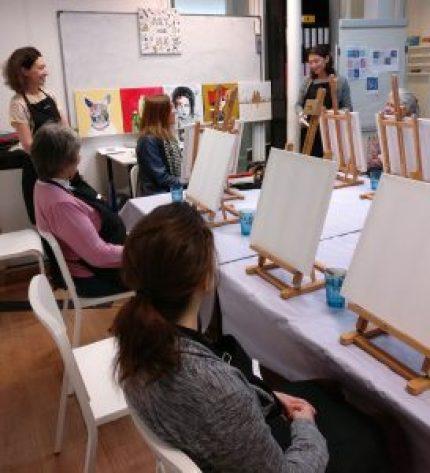 Atelier peinture bien-etre