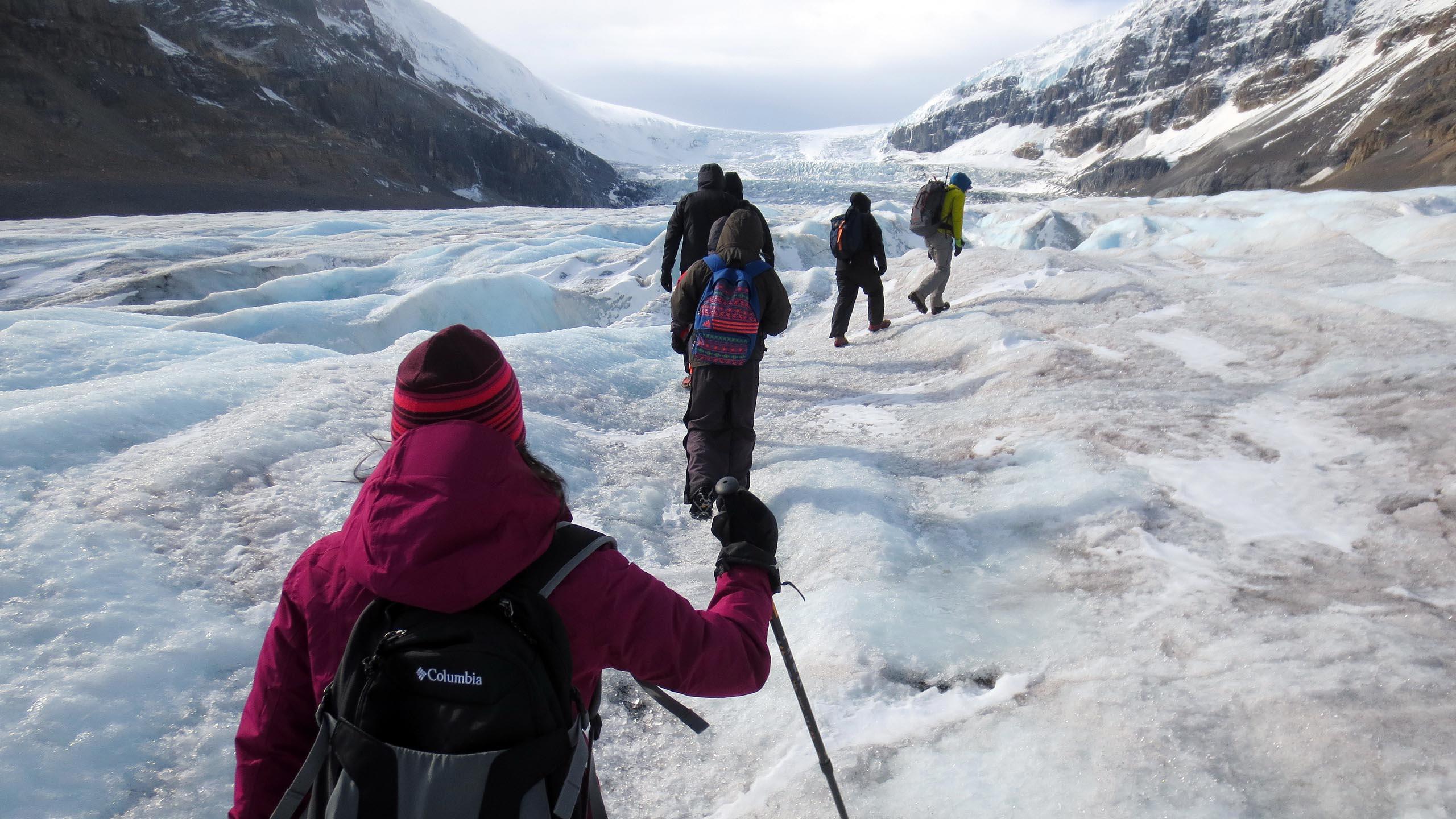 canada's athabasca glacier adventure