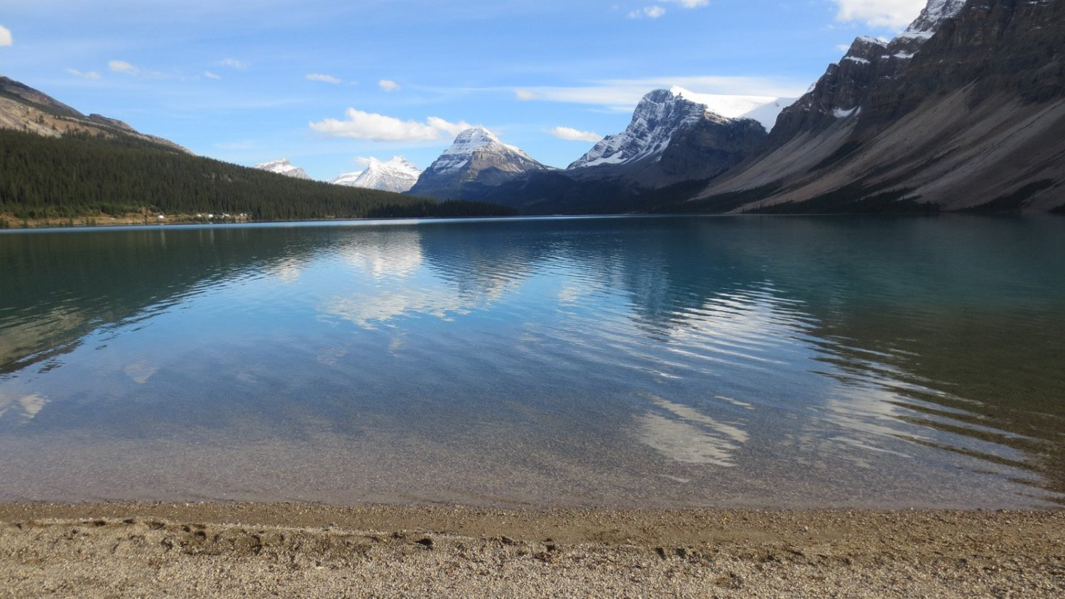 stunning views bow lake