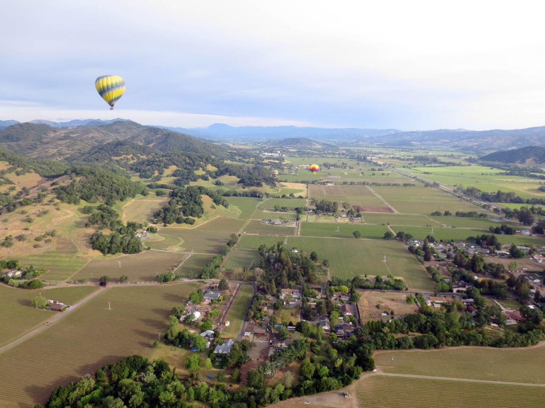 napa valley hot air balloon ride