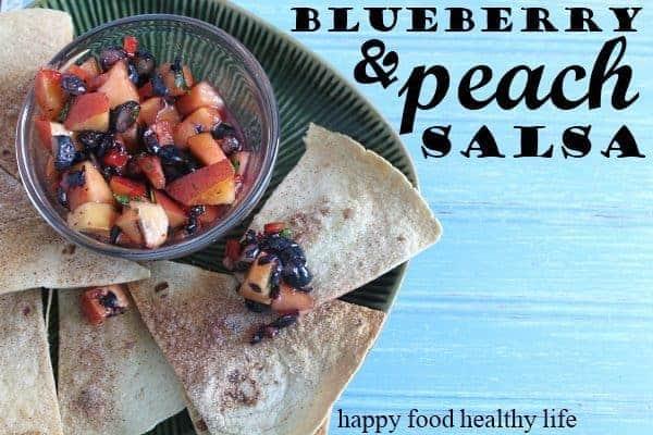 Ww Fresh Blueberry Peach Salsa