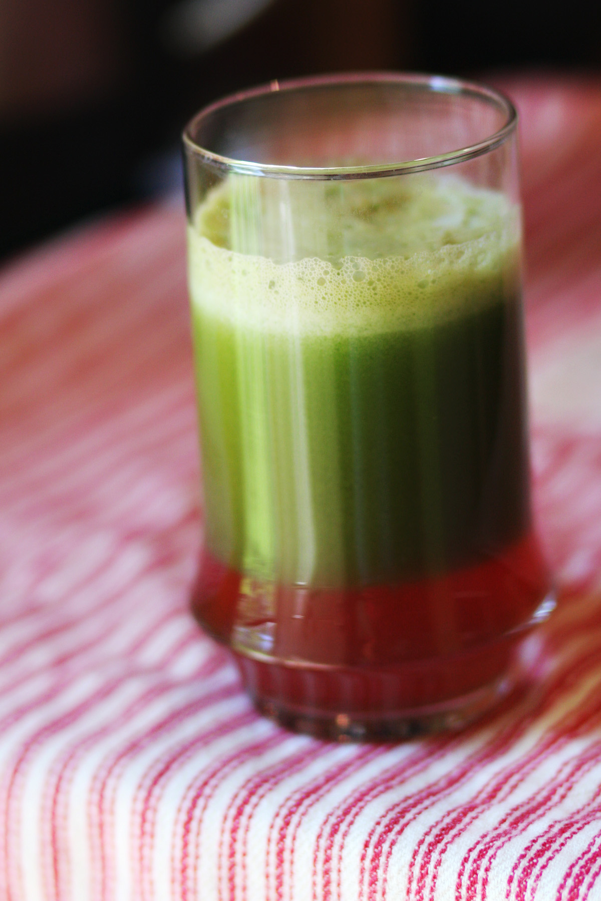 Green Lemonade with a Twist