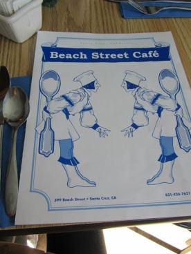 californie beach street cafe