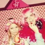 Mannequins pour pomme @ la soirée Pink Lady ;)