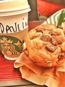 Caramel Macchiato et GROS muffins