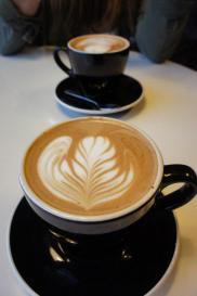 Le Latte Art - photo prise à NY en 2012
