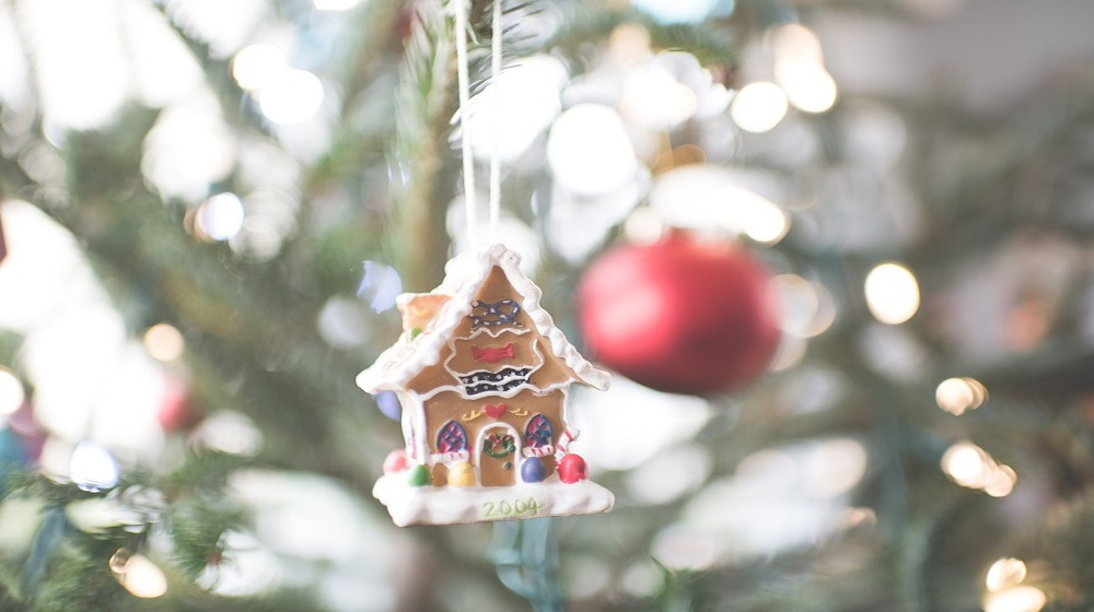 Happy-Fox-Christamas-is-coming-gingerbread-house-in-christmas-tree