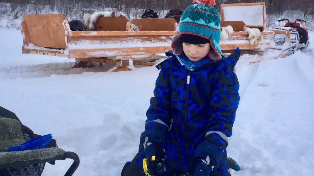 Happy-Fox-Fun-in-Winter-ice-fishing-boy