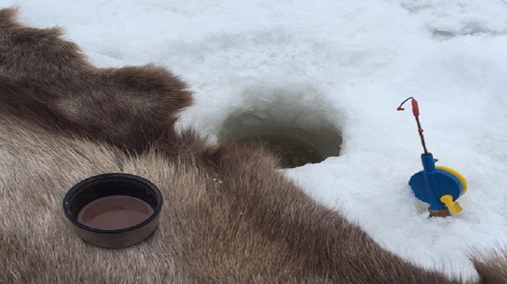Happy-Fox-Ice-Fishing-Trip-to-the-Ounasjoki-river-kakao-reindeer-fur