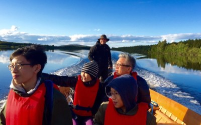 Arctic Boat Trip to the Ounasjoki River, 3 hours