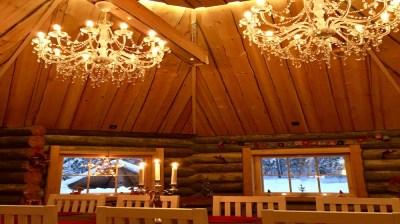 Happy-Fox-Forest-walk-&-Tradiotional-log-sauna-chandeliers