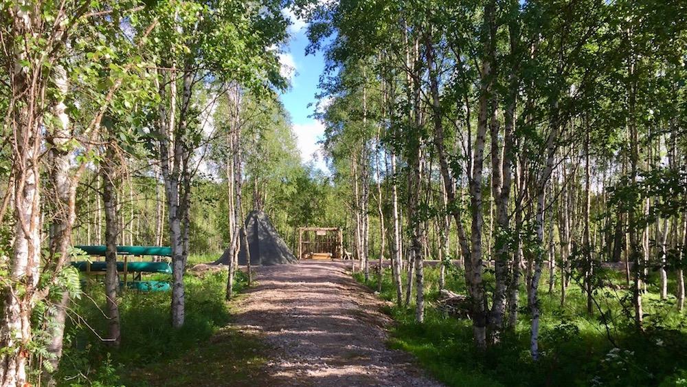 Happy-Fox-Finnish-Picnic-by-Open-Fire-goahti-hut-p